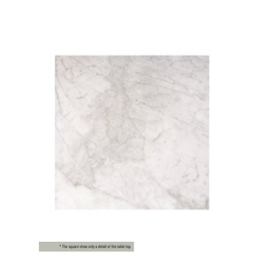 BRUCE BATHROOMCABINET TOP MARBLE WHITE