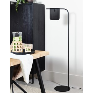 WYATT FLOOR LAMP BLACK