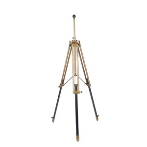 PORT FLOOR LAMP BRASS/BLACK