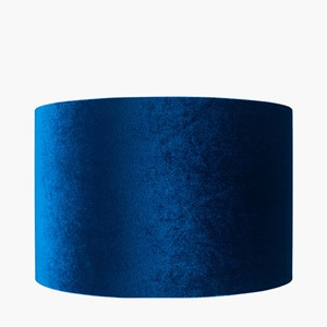 BOW 40 CM CYLINDER SAPPHIRE BLUE