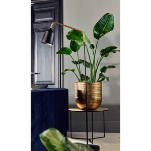 BIANCA FLOOR LAMP BLACK