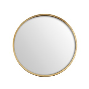 ANTIQUE MIRROR ROUND 40CM