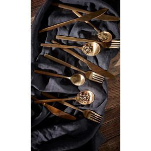 ENZO CUTLERY SET 16PCS GOLD