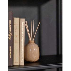 EARTHBEAUTY FRAGRANCE DIFFUSER BROWN - AMBERWOOD & JASMIN