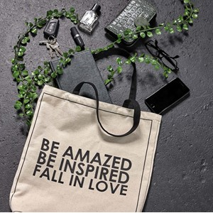 BE INSPIRED CANVAS LIFESTYLE BAG