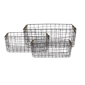 BELAY BASKET RECTANGULAR S/3 (127969/127970/127971)