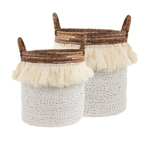 RUMBAI BASKET SET/2 (128270/128271)