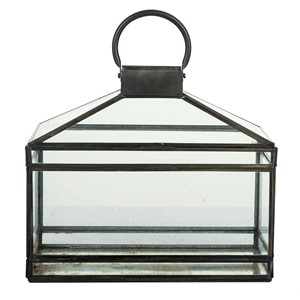 ANTIQUE LANTERN RECTANGULAR L