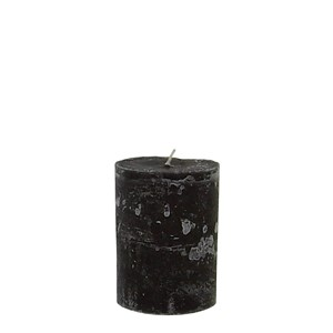 LUDO CANDLE Ø10X15 BLACK