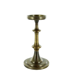 JAE CANDLE HOLDER BRASS S