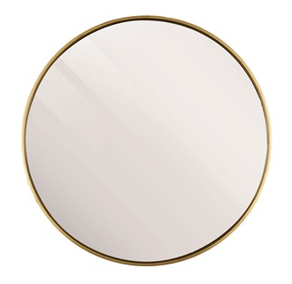 ANTIQUE GOLD MIRROR ROUND 120CM