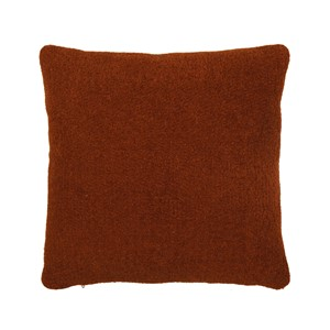 FEBE PILLOW LEATHER BROWN 45X45 CM