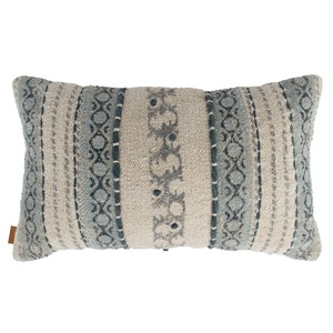 SUKI PILLOW DUSTY BLUE 50X30 CM