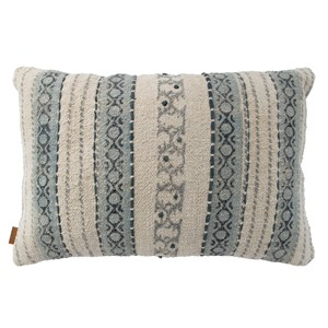 SUKI PILLOW DUSTY BLUE 60X40