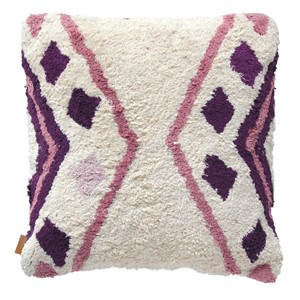 SACHI PILLOW DARK PURPLE 50X50 CM