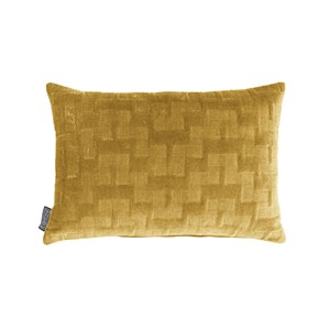 ISABELLA PILLOW OIL YELLOW 60X40 CM