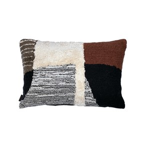 HUDSON PILLOW BLACK 60X40 CM