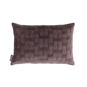 ISABELLA PILLOW RAISIN 60X40 CM