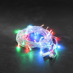 Lysslynge 50 fargede LED transparent kabel