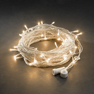 Slynge 50 amber LED transparent kabel