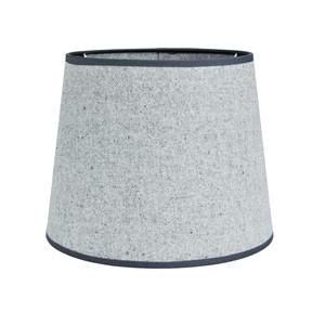OXFORD COTTON SHADE ROUND LIGHT GREY S