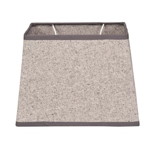 OXFORD COTTON SHADE RECTANGULAR LIGHT GREY S