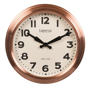 WALL CLOCK COPPER L