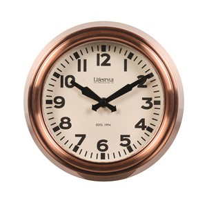 WALL CLOCK COPPER S