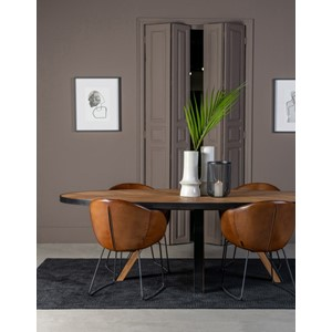 MACON DINING TABLE OVAL 250