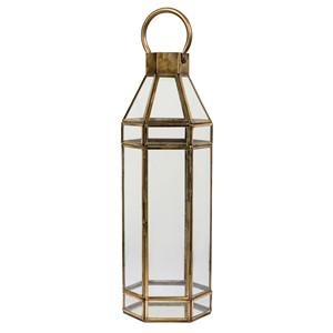 ANTIQUE GOLD LANTERN S