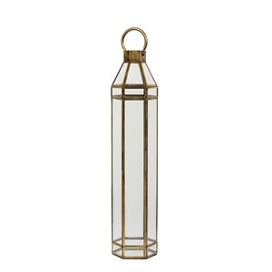 ANTIQUE GOLD LANTERN L