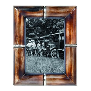 HORN PHOTOFRAME RING BROWN 13X18 CM