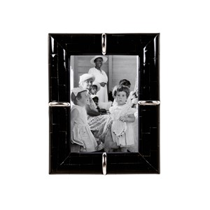 HORN PHOTOFRAME RING BLACK 13X18 CM