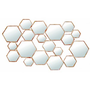 DIVIDED MIRROR HEXAGON L