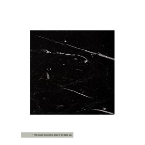 BRUCE BATHROOMCABINET TOP MARBLE BLACK