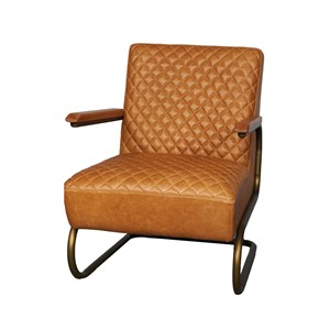 EDWARD SWING ARMCHAIR COLOMBIA BROWN