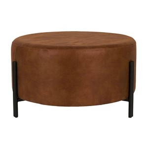 EASTON STOOL COGNAC 80X80X40