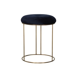 SELA STOOL VELVET NIGHT SKY