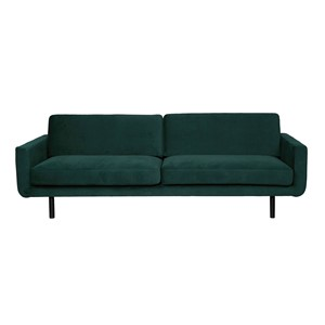 GENUA SOFA VELVET FOREST GREEN