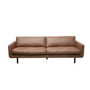 GENUA SOFA COLORADO DARK BROWN