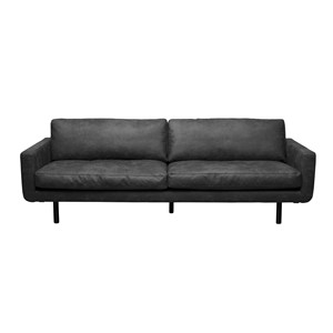 GENUA SOFA COLORADO DARK GREY