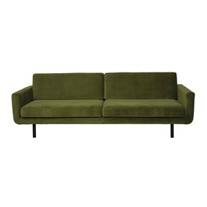 GENUA SOFA VELVET TURTLE GREEN