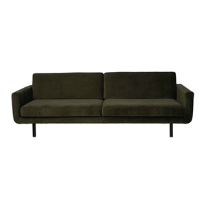 GENUA SOFA VELVET HUNTER GREEN
