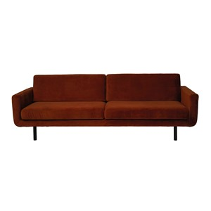 GENUA SOFA VELVET COPPER