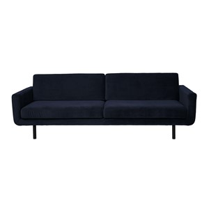 GENUA SOFA VELVET DARK BLUE