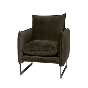 MILAN SOFA 1 SEAT SEVEN HUNTER GREEN