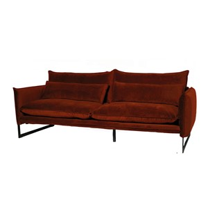 MILAN SOFA 3 SEAT SEVEN COPPER