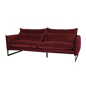 MILAN SOFA 3 SEAT SEVEN WINE RED