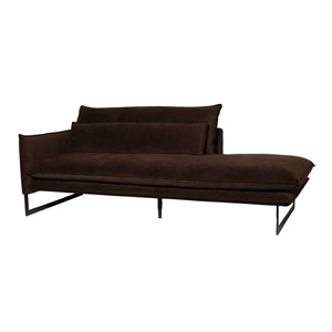 MILAN DAYBED LEFT SEVEN DARK BROWN