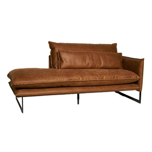 MILAN DAYBED RIGHT MERSEY COGNAC